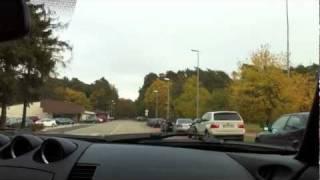 German Traffic Slowing Me Down
