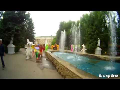Ростовая кукла Волгоград - Лучший танцевальный флешмоб ФМ2013