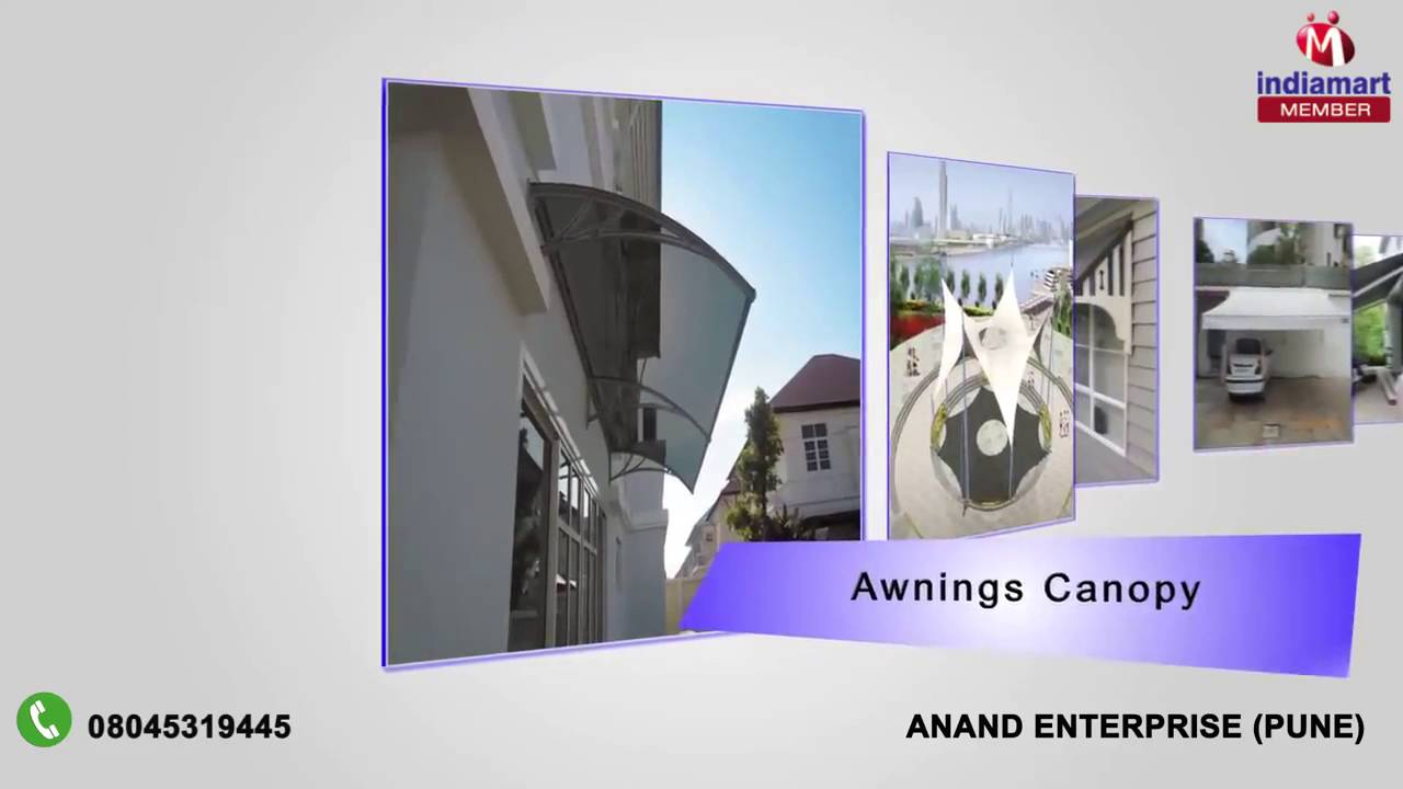 Awnings Canopy And Mosquito Net By Anand Enterprise Pune Youtube