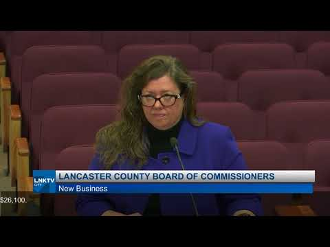 Lancaster County Board of Commissioners March 20, 2018