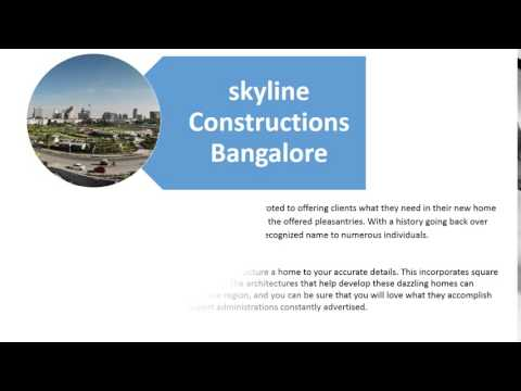 Skyline constructions bangalore