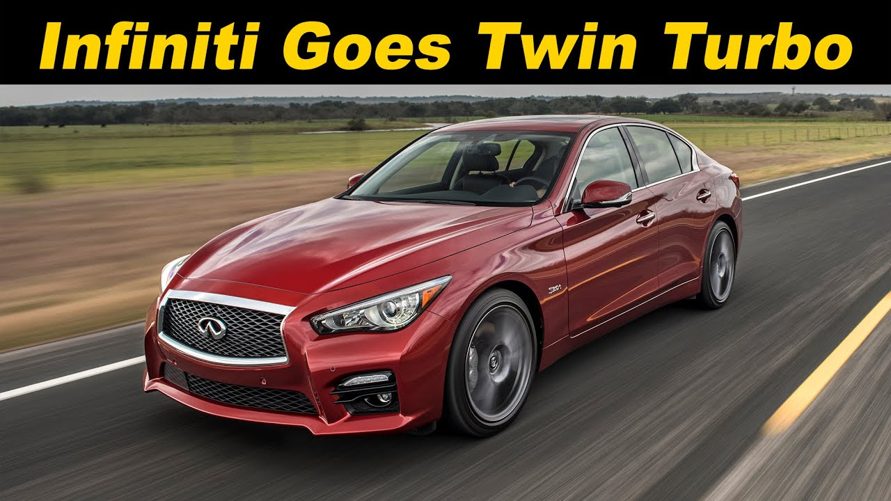 2016  2017 Infiniti Q50 Red Sport 400 Review and Road Test  4K