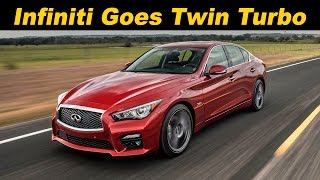 2016 Infiniti Q50 Red Sport 400 Review and Road Test In 4K UHD!