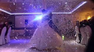 Первый свадебный танец (пушка конфетти) 21.10.17