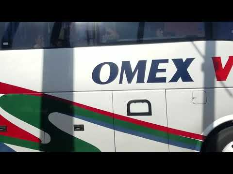 OMEX VIP Volvo bus downtown El Paso TX - YouTube