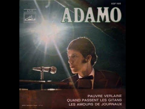 Adamo   Pauvre Verlaine    1968 mp3