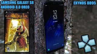 Samsung Galaxy S8 (Exynos) - God of War Chains of Olympus - PPSSPP v1.7.2 - Test (OpenGL/Vulkan)