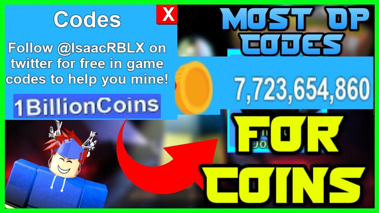 This Code Will Make You Rich In Roblox Mining Simulator Mining Simulator Most Op Codes 2018 Youtube