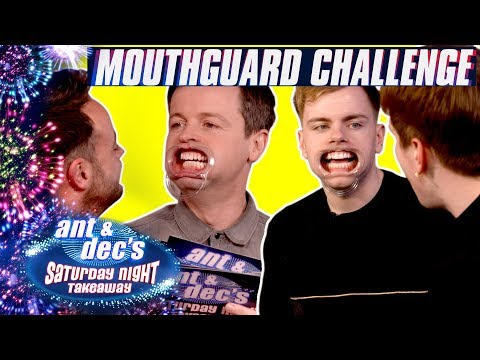 The Mouthguard Challenge | Ant & Dec v Niki 'n' Sammy
