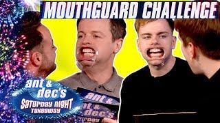 The Mouthguard Challenge   Ant & Dec v Niki 'n' Sammy