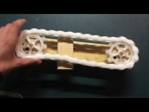 3D printed chain and and gear