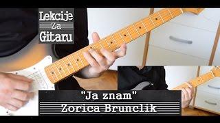 Ja znam - Zorica Brunclik - cover lesson