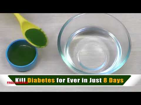 Kill Diabetes Forever In Just 10 Days Easy And Faster Home Remedy