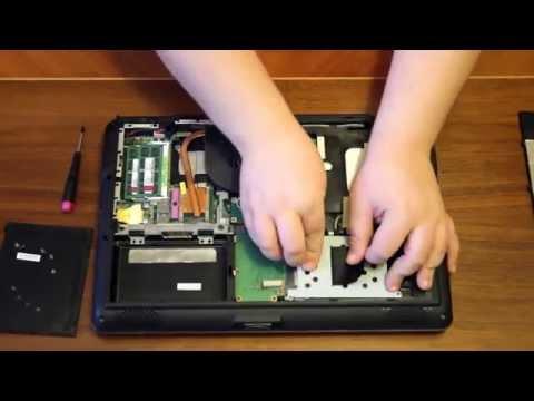 Asus K50i HDD Remove/eltávolítás