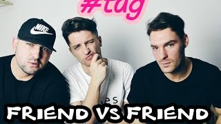 FRIEND VS FRIEND *KTO LEPIEJ MNIE ZNA ? |LUKA