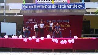 [Full HD] - Liên khúc Xuân Acoustic - PDL Band - THPT Phan Đăng Lưu