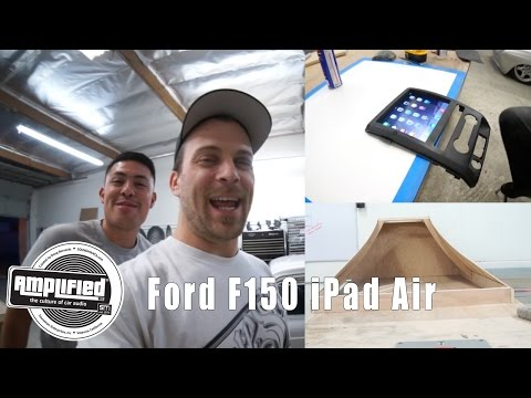 IPad Air Installed Into Ford F150 Dash Kit