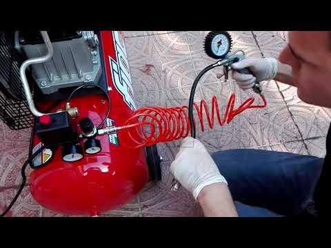 Funzionamento Compressore FIAC AB 100/268