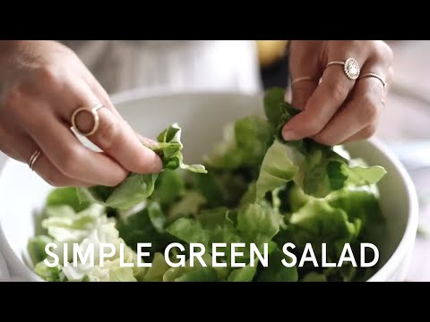 How To Make A Simple Green Salad | Nutrition Stripped