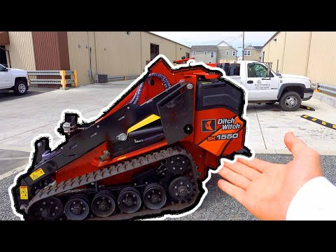 Best Mini Skid Steer To Buy When Starting In Landscaping (Ditch With SK850)
