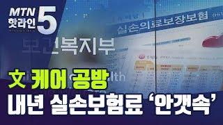 '문 케어 공방'..내년 실손보험료 인상 논의 '안갯속…