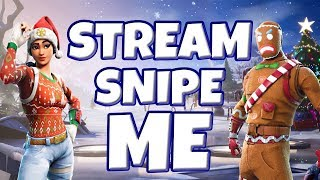 *NEW*FROZEN LEGENDS PACK - PLAYING WITH FANS - MERRY XMAS EVE (FORTNITE LIVESTREAM) - PS4 PRO