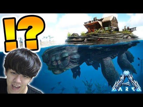 超巨大生物『メガケロン』をテイムする-PART6-【ark survival evolved(Genesis)】