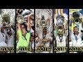 اخر 5 نهائيات لريال مدريد في دوري ابطال اوروبا وجنون المعلقين العرب