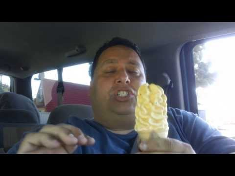 Wienerschnitzel's Cake Batter Dipped Cone REVIEW!!