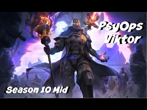 League of Legends: PsyOps Viktor Mid Gameplay