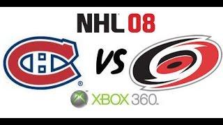 NHL 08 - Montreal Canadiens vs Carolina Hurricanes