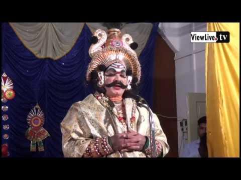 KODI VISHVANATHA GANIGA   SPEECH AT YAKSHAGANA PROGRAMME LIC MANGALURU