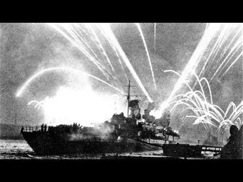 Ленинград. Салют в день Освобождения от блокады 27 января 1944