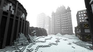 Minecraft - The Day After Tomorrow Survival Map Presentation and Download