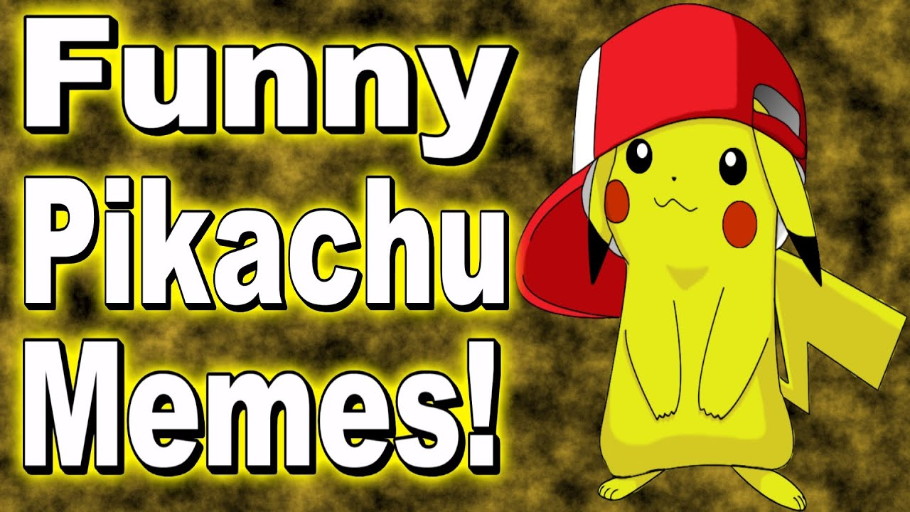 Funniest Meme Characters : Funny pokemon pictures and memes hilarious pikachu meme
