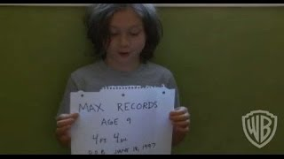 """Where the Wild Things Are - """"finding Max"""" Featurette"""