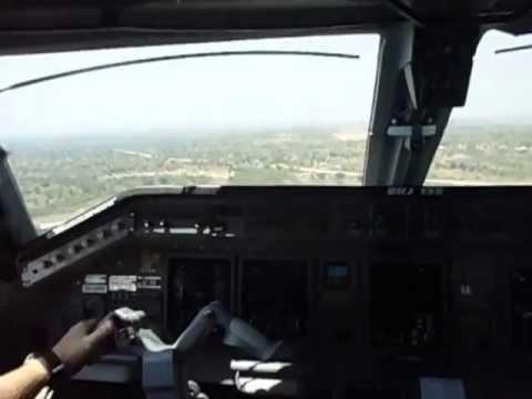 Embraer 135 First Landing in Karonga, Malawi