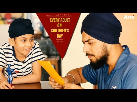 Every Adult On Children's Day | What Your 10 Year Old Self Thinks Of You