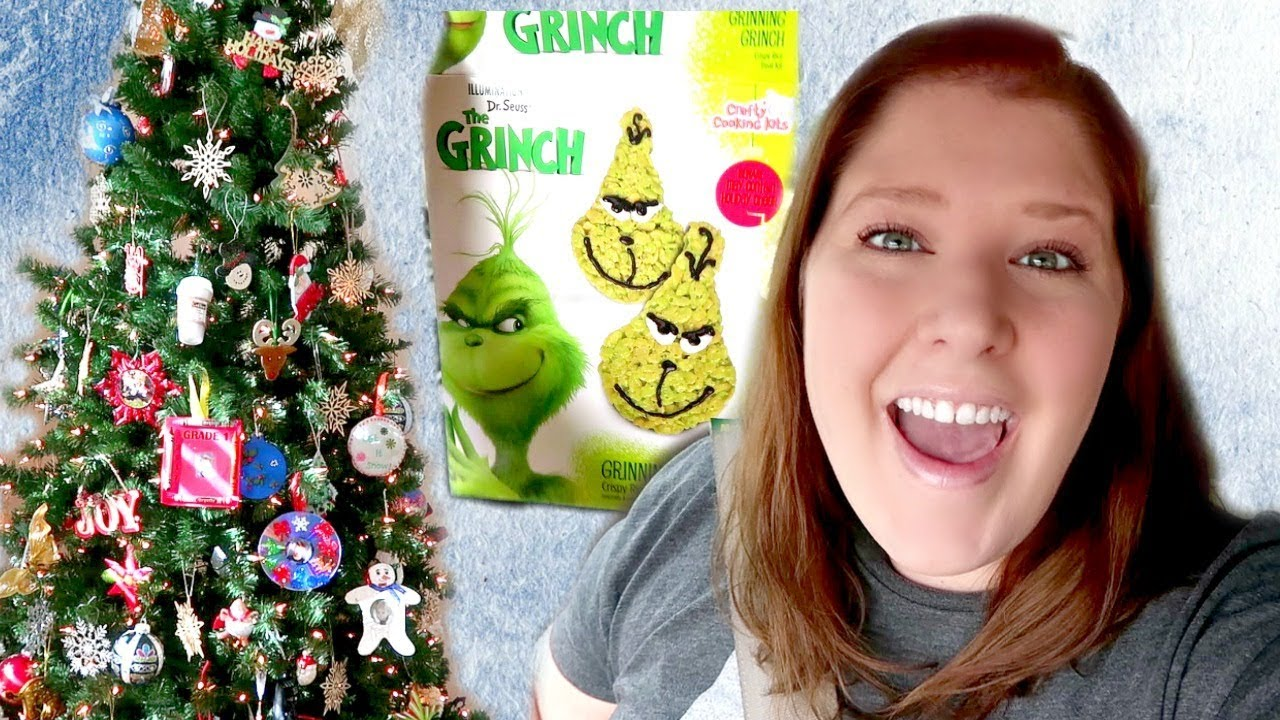The Grinch Christmas Tree Movie.The Grinch Movie Putting Up The Christmas Tree