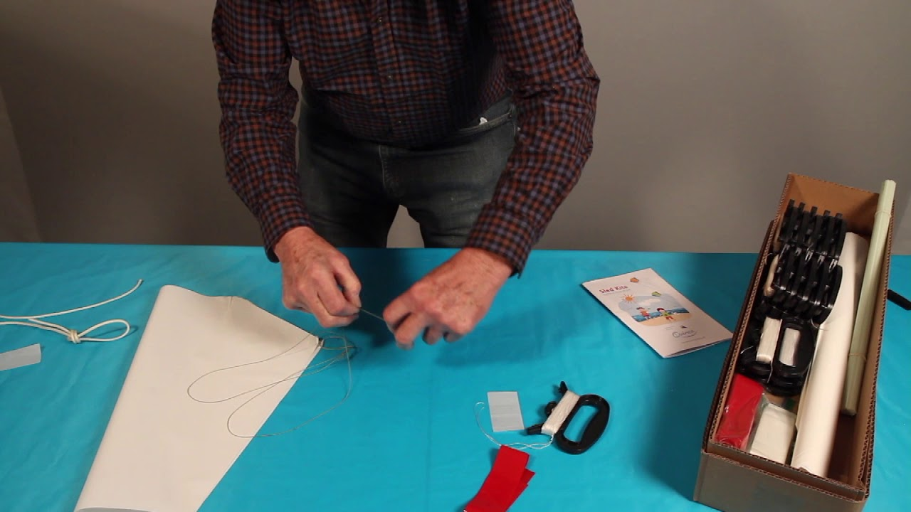 QUINCO kite-making instruction video (SLED)