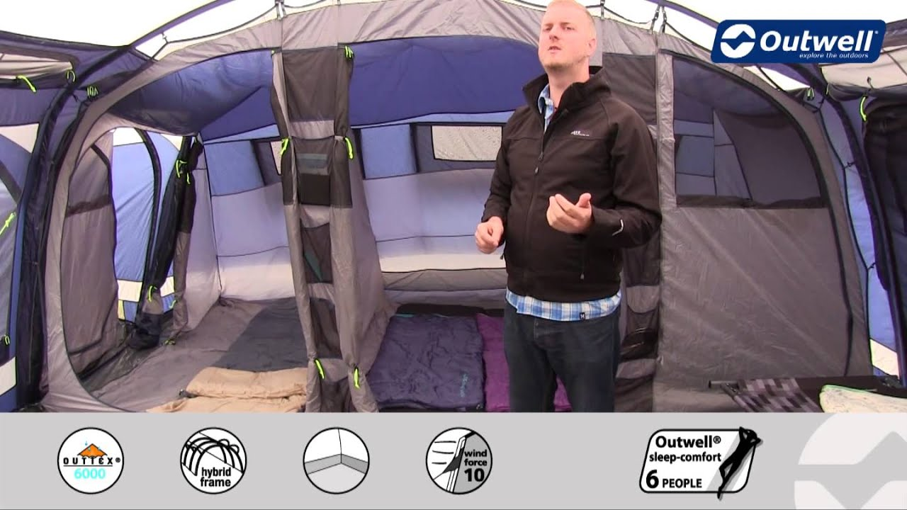 Outwell Tent Bahia 7 - 2014 | Innovative Family C&ing  sc 1 st  YouTube : best tent for family of 5 - memphite.com