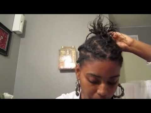 Two Strand Twist On Thin Hair Youtube