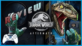 Jurassic World Aftermath - Review - Virtual Reality Game - Don't Bite Me!!! (Video Game Video Review)