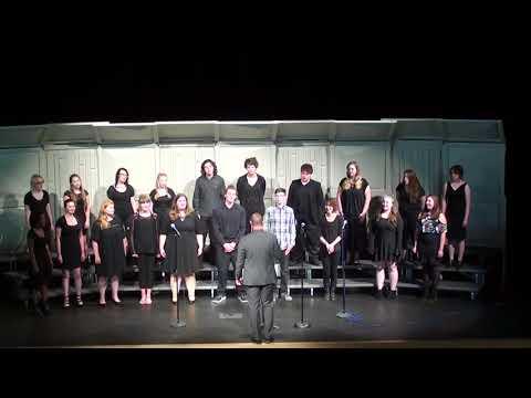 """Selah High School Choir Sings """"I Can't Help Falling In Love"""" by Elvis"""