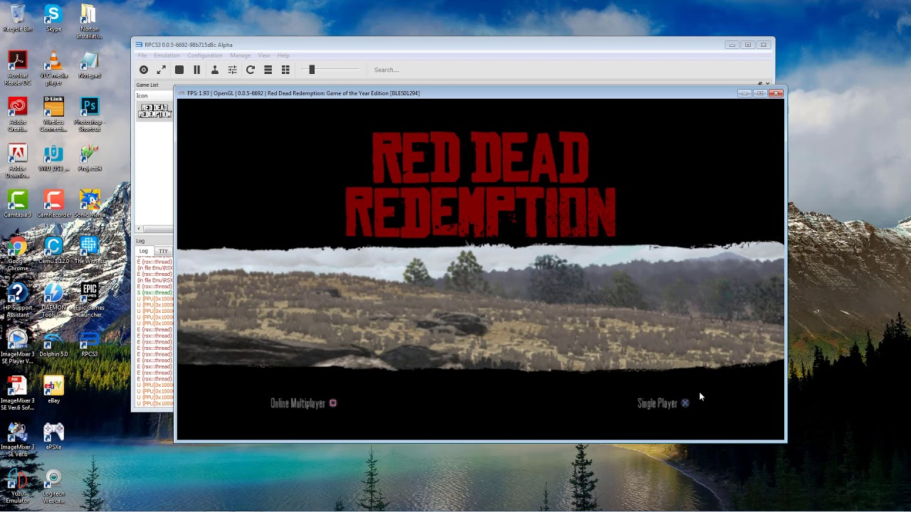 Red Dead Redemption   RPCS3   Nvidia PC Low-end - Thủ thuật máy tính