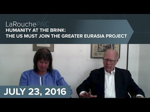 Humanity at the Brink  The US Must Join the Greater Eurasia Project —  Part 1 final