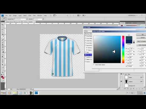 como crear camisetas de fútbol en photoshop 2015 - youtube