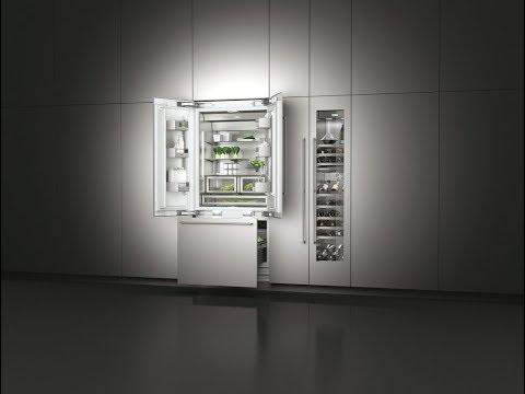 Холодильники высокого качества с облицовкой из нержавеющей стали и LED-подсветкой