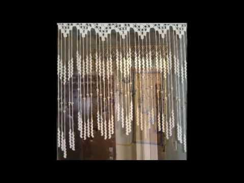 Вязание крючком шторы на кухню схемы бесплатно