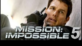 Mission Impossible FILM ACTION Rogue Nation Official Teaser Trailer (2015) - Tom Cruise HD